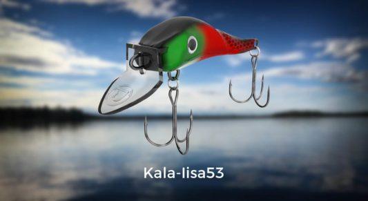 Lohivaappu Kala-Iisa53 värikartaston kansikuva. Klikkaamalla verrkkokauppakuvastoon.